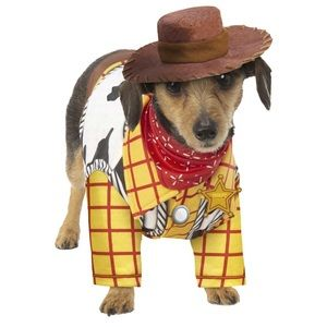 NWT Toy Story Woody's Pet Costume